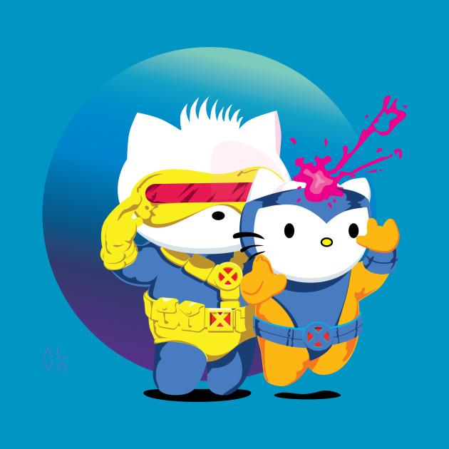 Cyclop & Jean Grey VS Dear Daniel & Hello Kitty