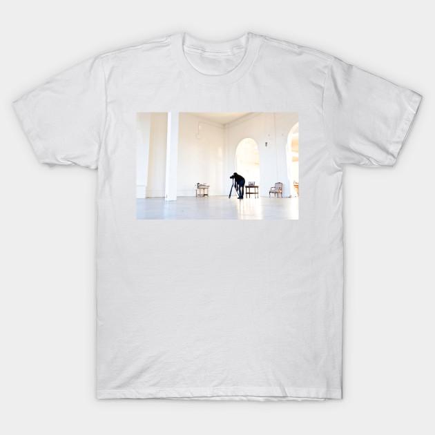 Please Minimalistic Design Womens T-Shirt Oh