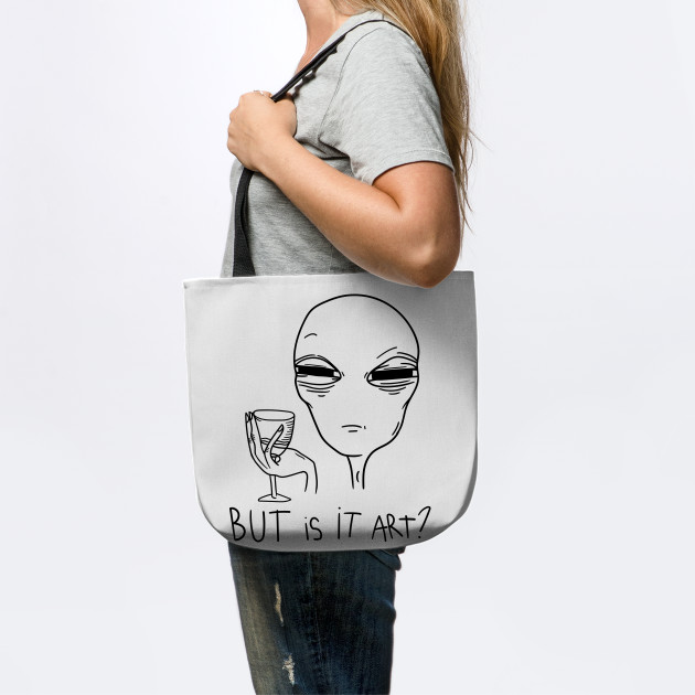 Believe Alien Christmas Santa's Hat Wine Lover Xmas UFO