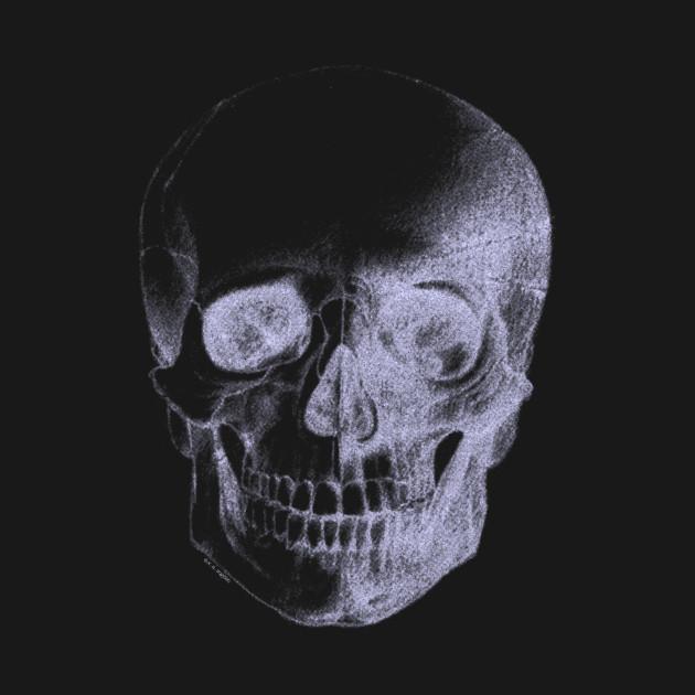 Skull X-Ray - Skull - T-Shirt   TeePublic Skull X Ray Views Chart