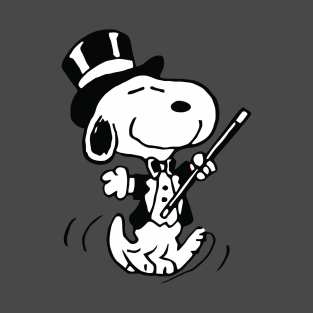 Magician Snoopy t-shirts
