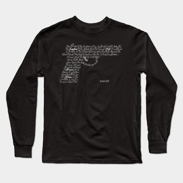 9f50a341 Ezekiel 25:17 - Pulp Fiction - Long Sleeve T-Shirt   TeePublic