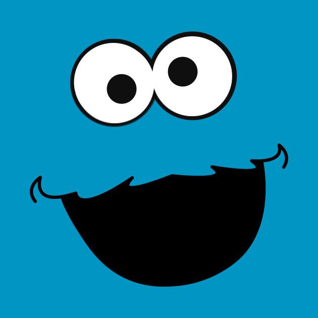 Minimalist Cookies Monster