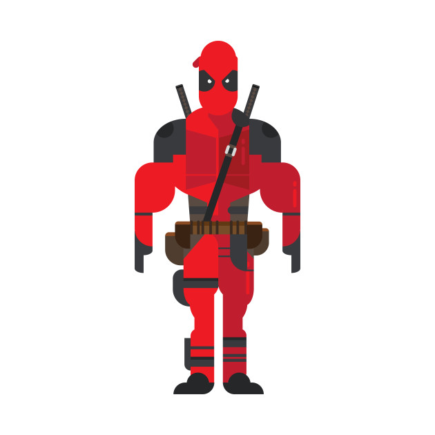 Deadpool Vector - Art - T-Shirt