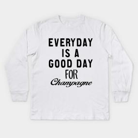 Champagne Kids Long Sleeve T Shirts Teepublic