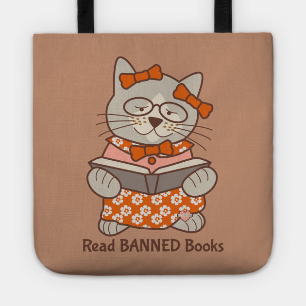 3d3700ed16cf Read Banned Books - Library - Tote