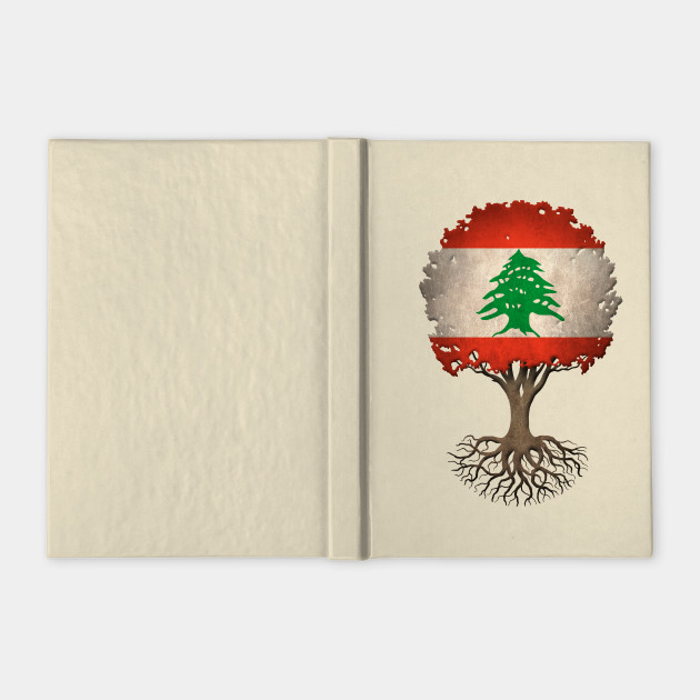 Tree of Life with Lebanese Flag