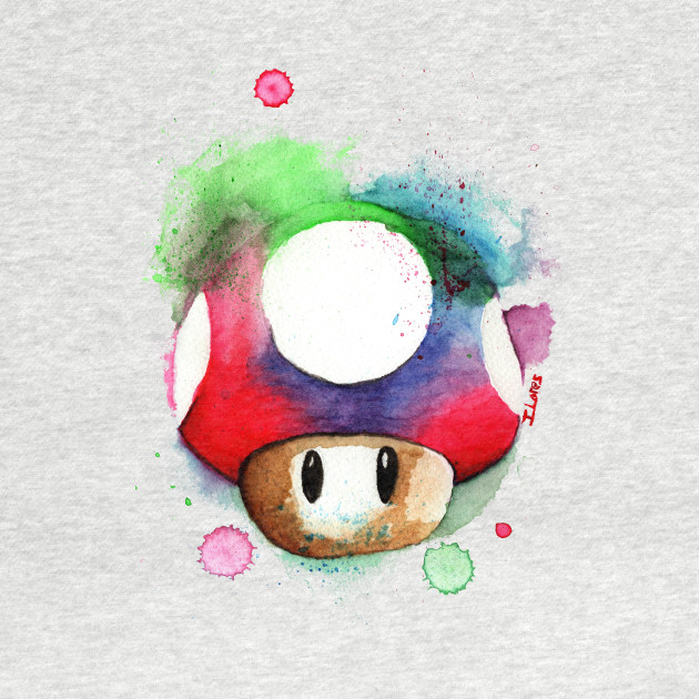 1 UP watercolor COLORFUL