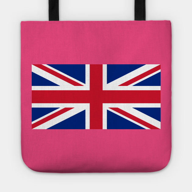 Upside Down Union Jack Uk Tote Teepublic