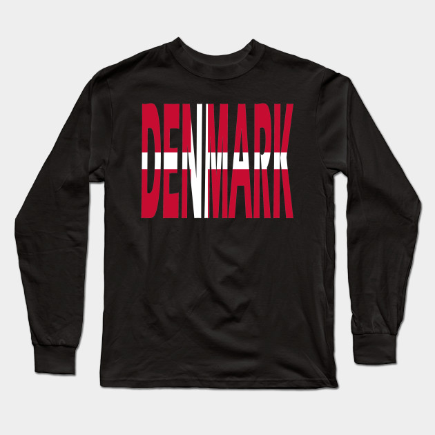 Denmark text T-Shirt