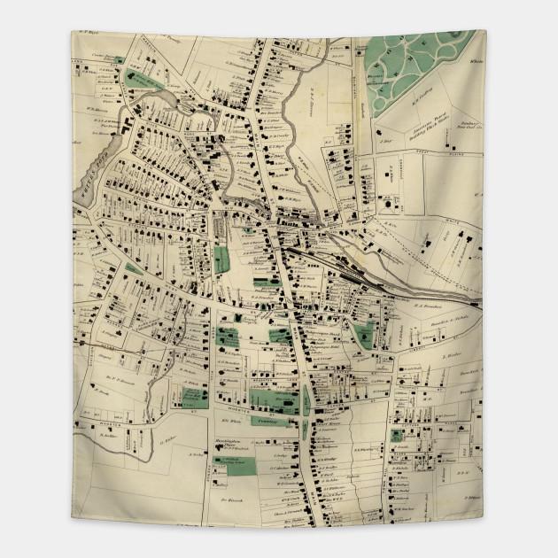 Danbury Map on