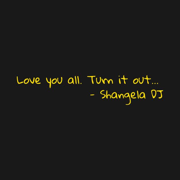 Shangela's mirror message - rpdr s2