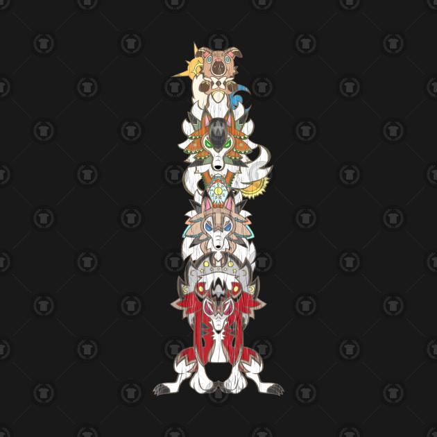 Rockruff Evolution Totempole