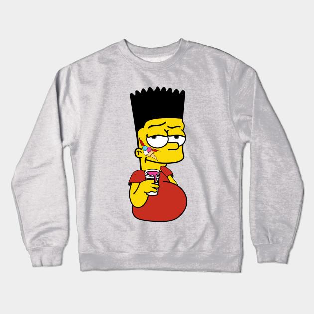 7057a6b7bcc Bart Simpson x Gucci Mane - Illustration - Crewneck Sweatshirt ...