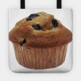 4a3254c7f4f2 Blueberry Muffin Tote. by Bravuramedia