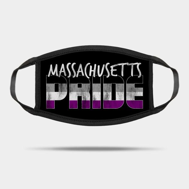 Massachusetts Pride Asexual Flag