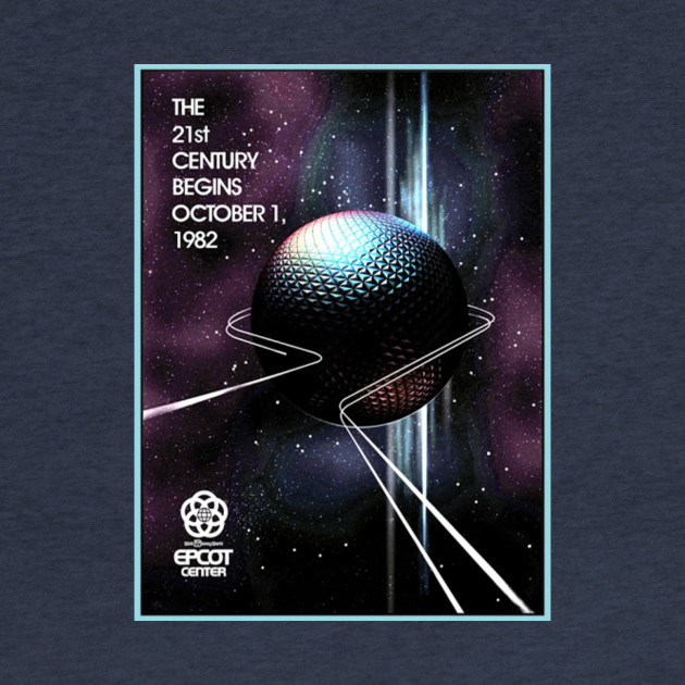 EPCOT Center Attraction Poster