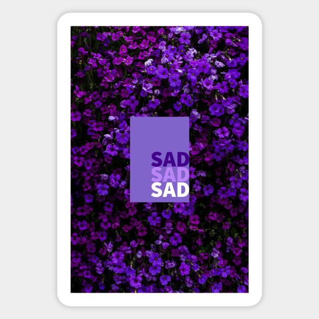 Aesthetic Sad Flowers Collage
