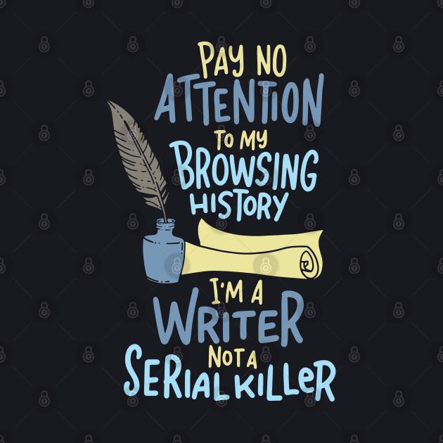Funny Writing Gift - Storyteller Pay No Attenton