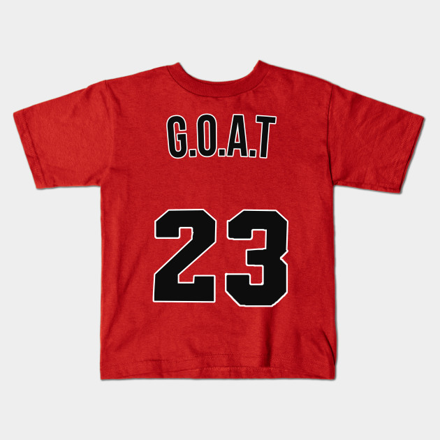 huge selection of 5f58d c7ba9 Michael Jordan 'GOAT' Nickname Jersey - Chicago Bulls