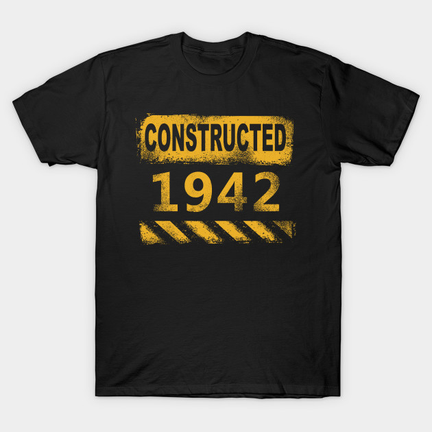 1942 birth year vintage retro T-Shirt