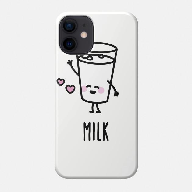 BFF Porte-cl/és /« Cookie and Milk Friends /» Cadeau id/éal pour les filles Cadeau id/éal pour un meilleur ami