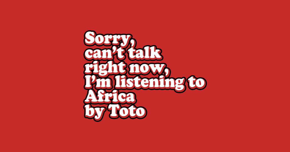 Lyric i bless the rains down in africa lyrics : Toto T-Shirts | TeePublic