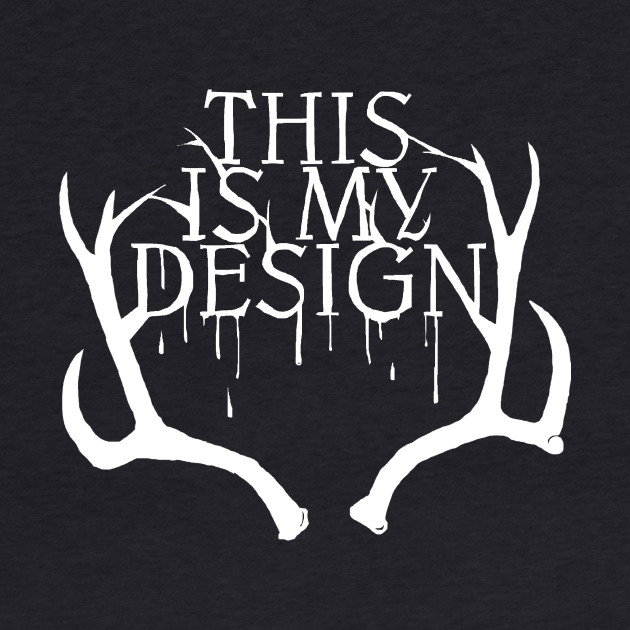 This is My Design - Black