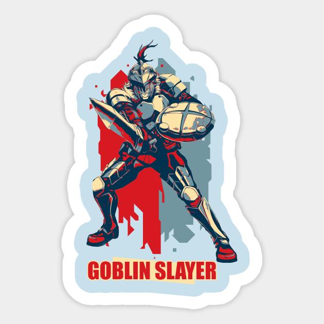 Goblin Slayer Hope Style Goblin Sticker Teepublic