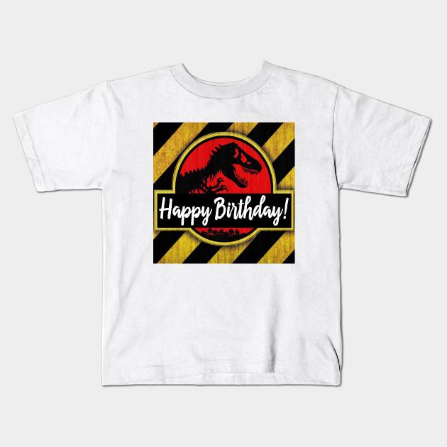 Happy Birthday Kids T Shirt