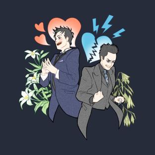 Oswald's heart t-shirts