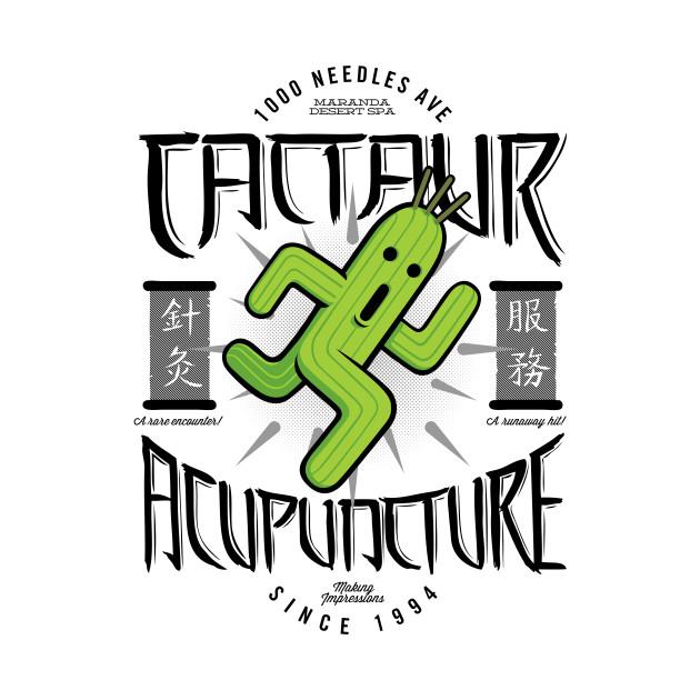 Cactaur Acupuncture (variant) T-Shirt