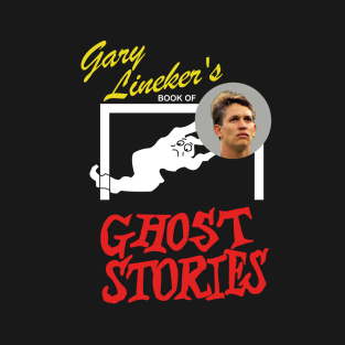 Gary Lineker's Book of Ghost Stories t-shirts