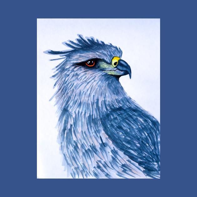Blue eagle baby