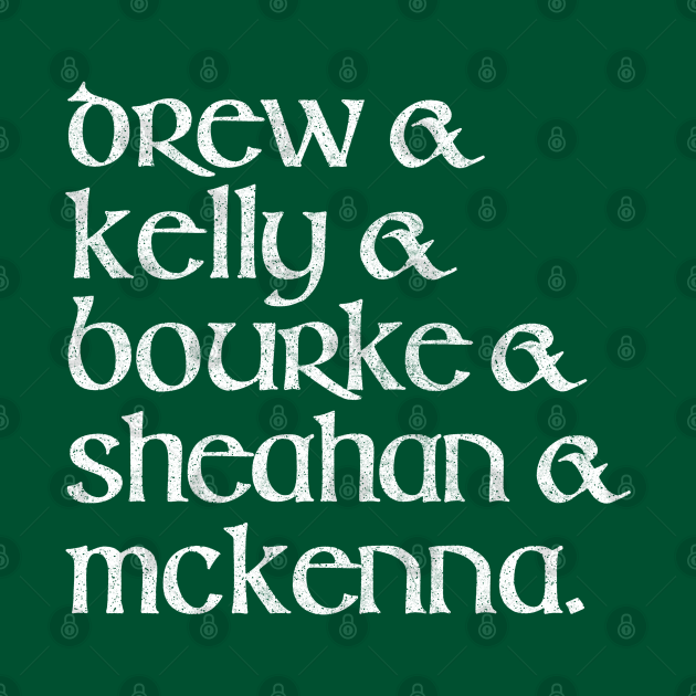 Classic Dubliners Names Line-Up