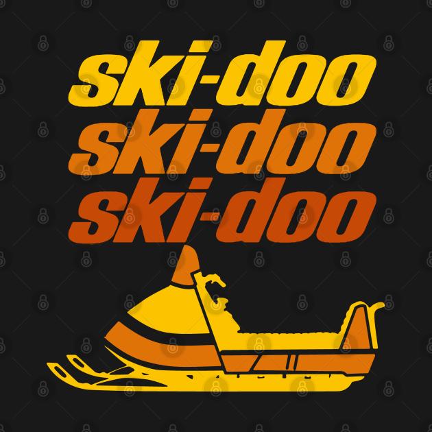 Ski Doo vintage Snowmobiles