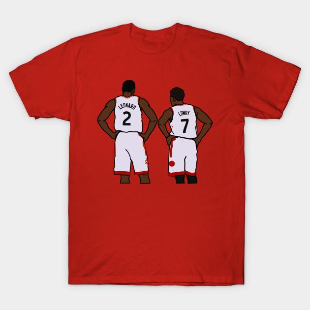 buy online 1cd78 06945 Kawhi Leonard and Kyle Lowry - NBA Toronto Raptors