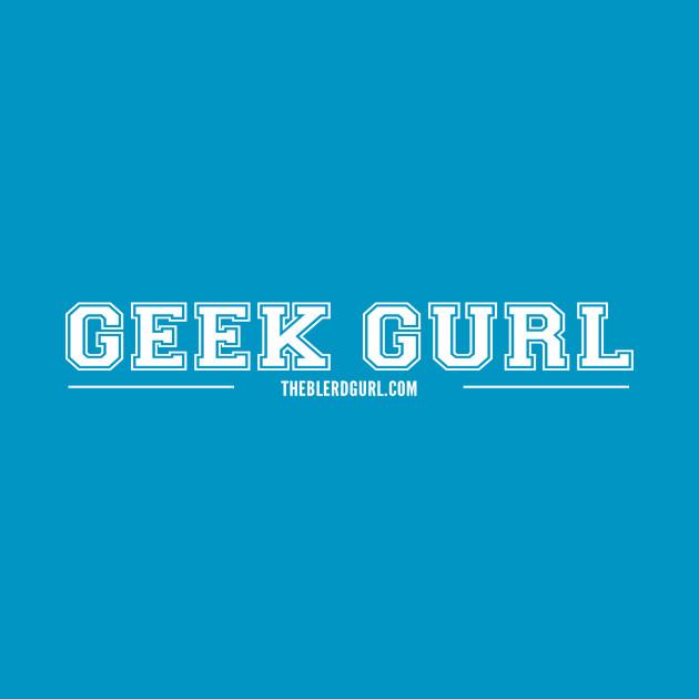 GEEK GURL VARSITY WHITE