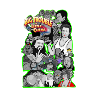 Big Trouble in Little China character collage