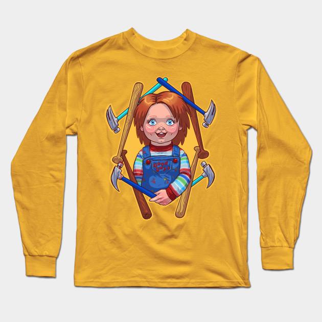 GOOD GUY CHUCKY Chucky Long Sleeve TShirt TeePublic - Good guy shirt