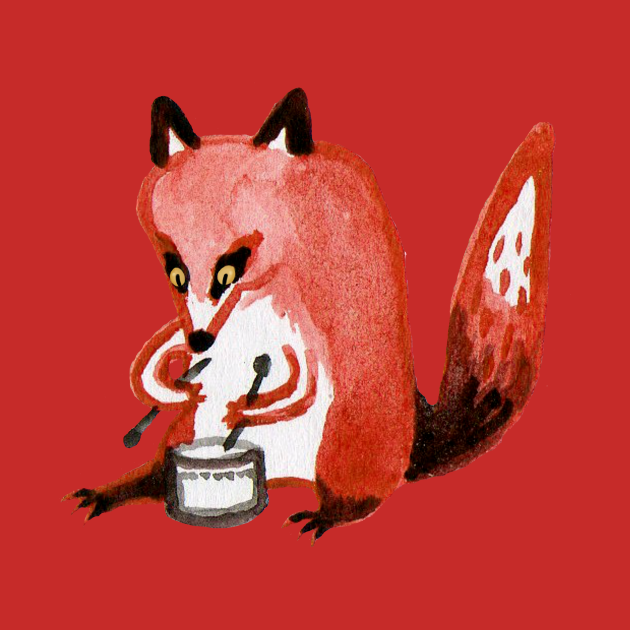 Drumming Fox
