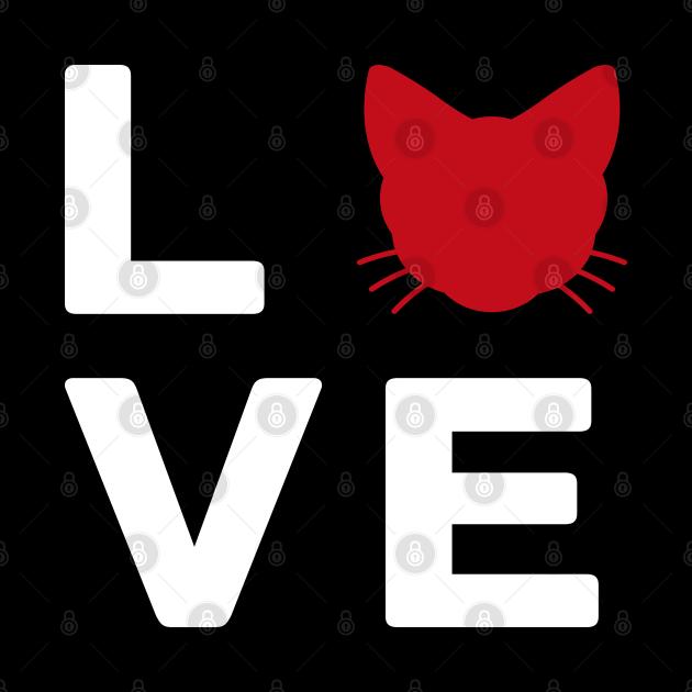 Love Cat T Shirt