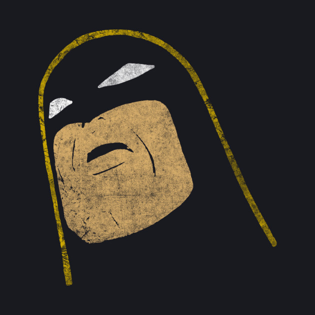 Space Ghost - Tilted Head - Colored Dirty