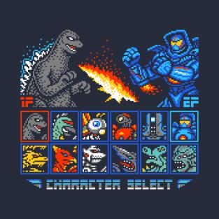 KAIJU FIGHTER t-shirts