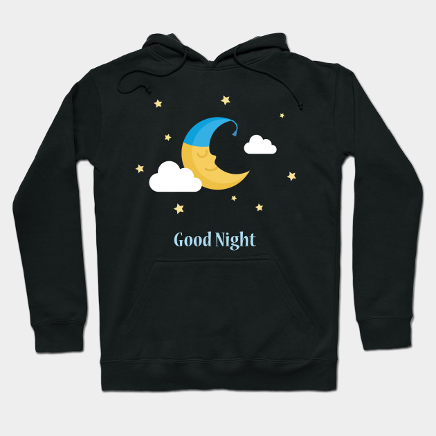 Cute Crescent Moon With Clouds