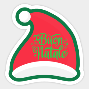Stickers Natale.Natale Stickers Teepublic