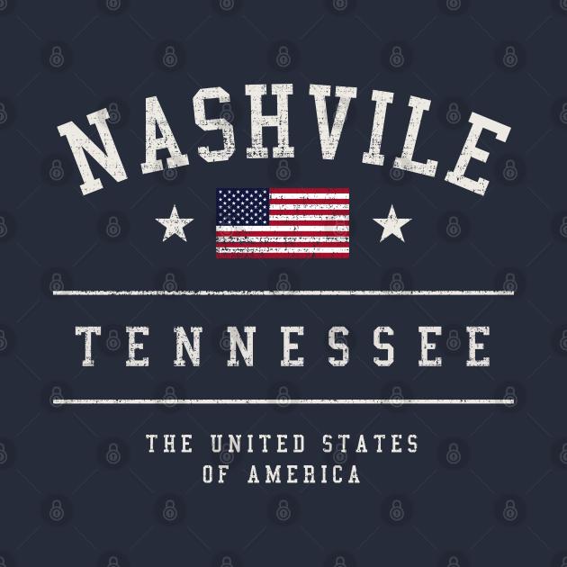 Nashville Tennessee USA Vintage
