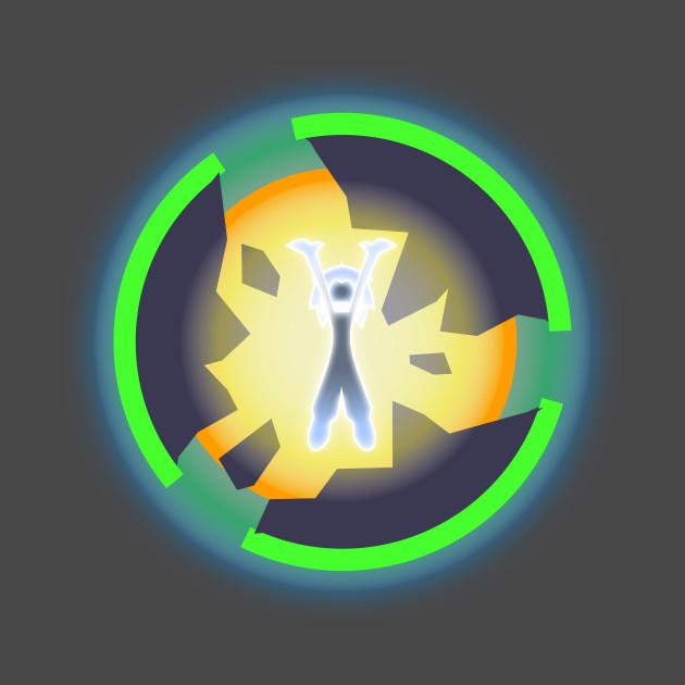 Space God Burst Logo