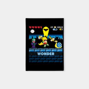 Boy wonder boy sega t shirt teepublic for Wonder boy t shirt