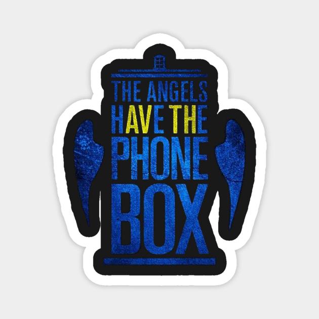 Angels have phone box